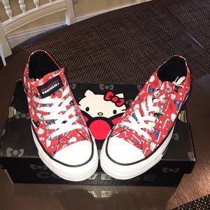 Brand new All Star Converse Hello Kitty